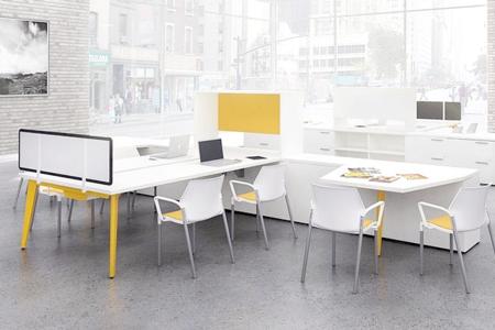 Open plan bbi beau bureaux interiors in california